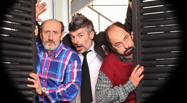José Luis Gil, Nacho Guerreros y Jordi Sánchez en la séptima temporada de 'La que se avecina'