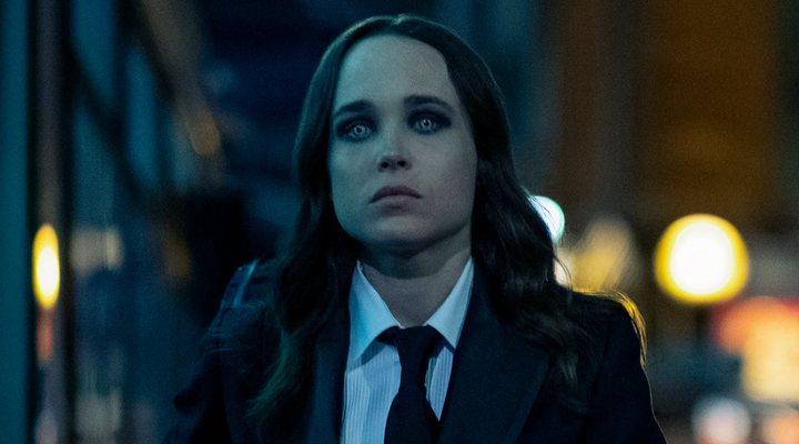 Elliot Page, antes Ellen Page, en 'The Umbrella Academy' como Vanya