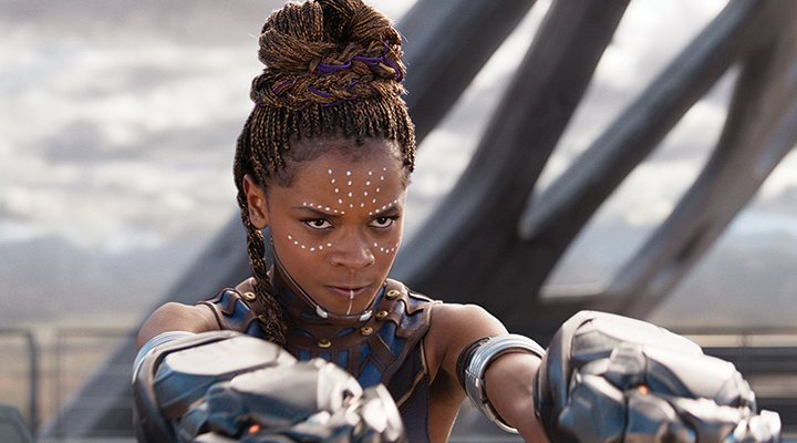 'Letitia Wright en Black Panther'