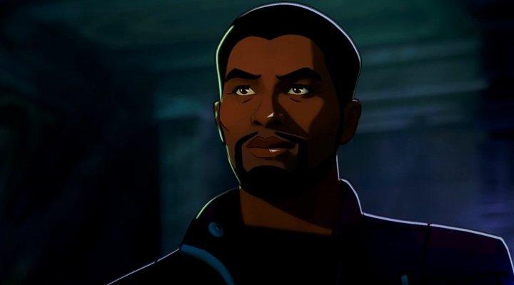 Chadwick Boseman animado en 'What if'