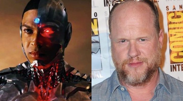 Ray Fisher y Joss Whedon