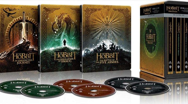 Trilogía 'El Hobbit' en 4K UHD