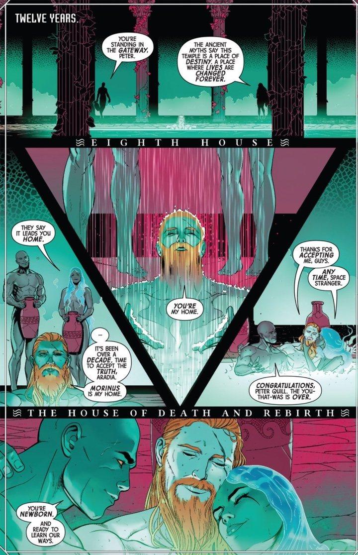Star-Lord bisexual y poliamoroso en los cómics de 'Guardianes de la Galaxia'