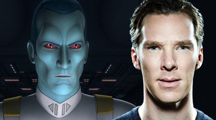 La versión animada del villano de 'Star Wars', Thrawn y Benedict Cumberbatch