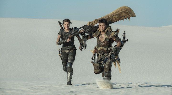 Milla Jovovich y Tony Jaa