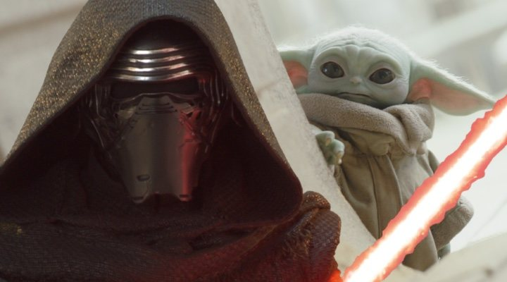 'Star Wars', Kylo Ren y Grogu