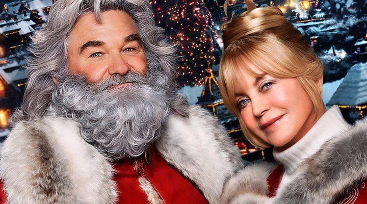 Kurt Russell y Goldie Hawn en 'Crónicas de Navidad 2'