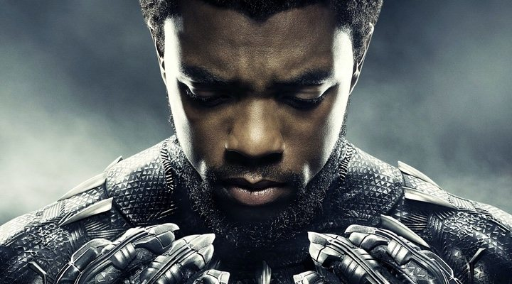 Chadwick Boseman como 'Black Panther'