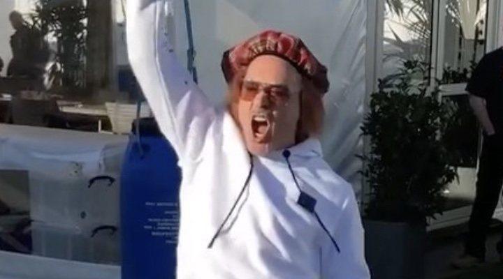 Robert Downey Jr. en Año Nuevo