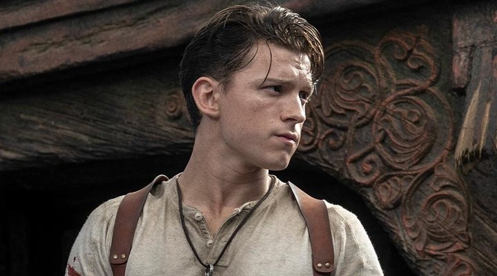 Tom Holland como Nathan Drake en 'Uncharted'