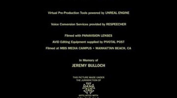 Homenaje a Jeremy Bulloch en 'The Mandalorian'