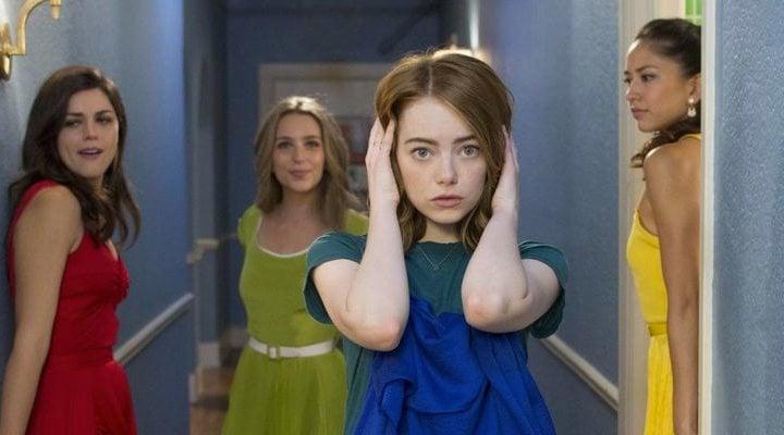 'Emma Stone en La la land'