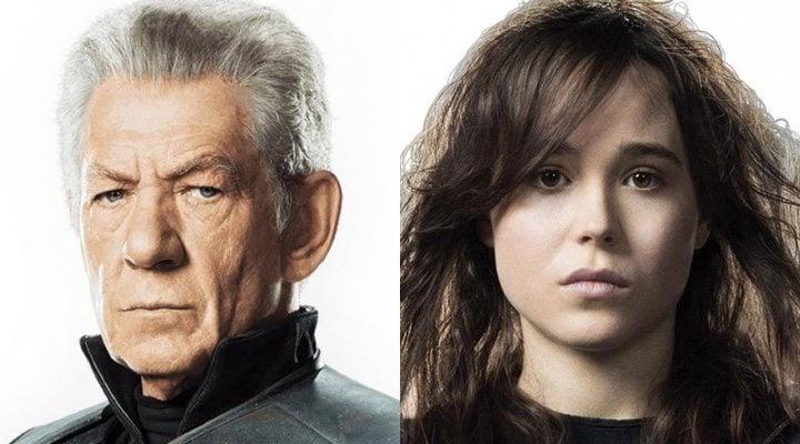 Ian McKellen y Elliot Page en 'X-Men: Días del futuro pasado'