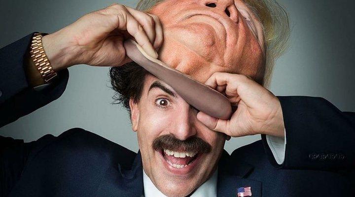 Sacha Baron Cohen como Borat