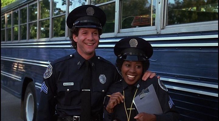 'Loca academia de policia'