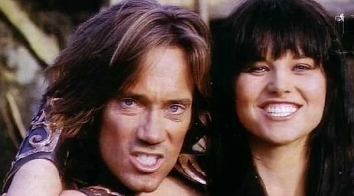 'Lucy Lawless y Kevin Sorbo'