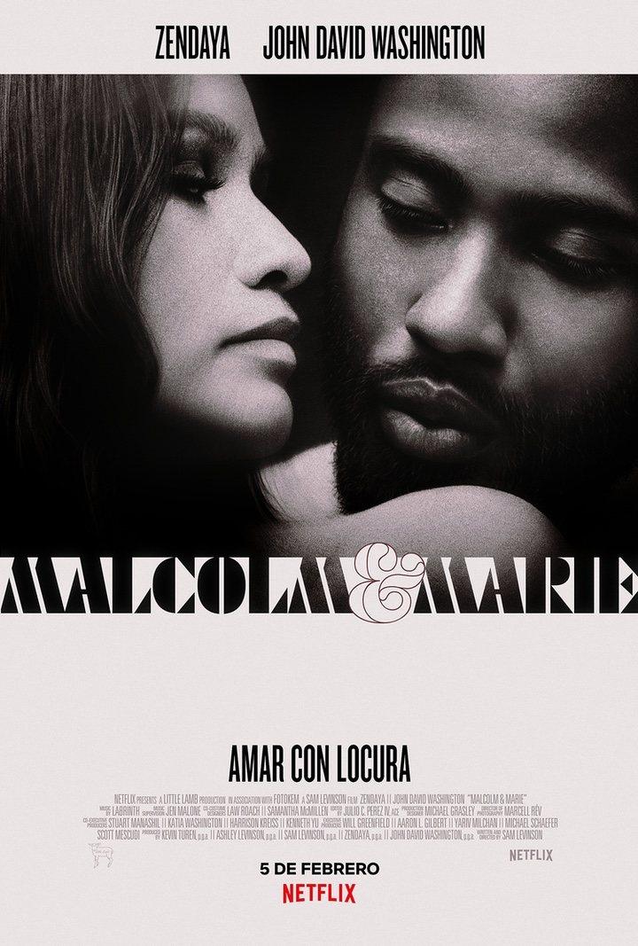 Póster de 'Malcolm & Marie'