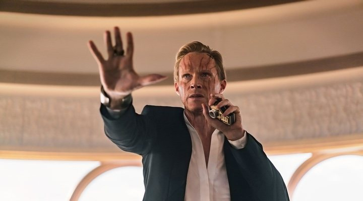 Paul Bettany en 'Han Solo: Una historia de Star Wars'