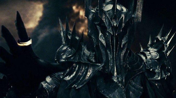 'Sauron en El señor de los anillos'