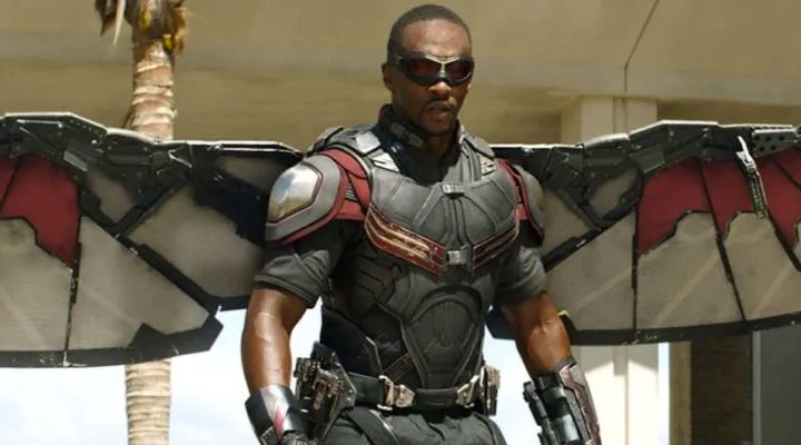 'Anthony Mackie en Civil War'