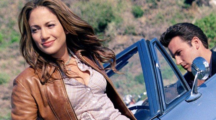 Jennifer Lopez y Ben Affleck en 'Gigli'