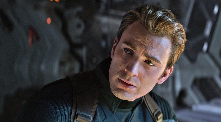Chris Evans como el Capitan América