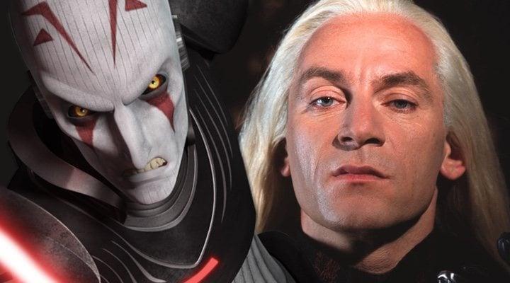 Jason Isaacs y su Gran Inquisidor de 'Star Wars Rebels'