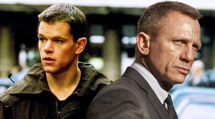 James Bond, ¿le copió el tono a Jason Bourne?