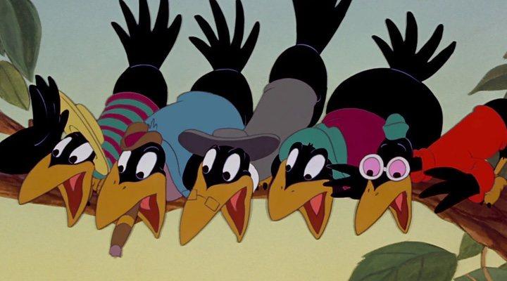 Los cuervos 'racistas' de 'Dumbo'