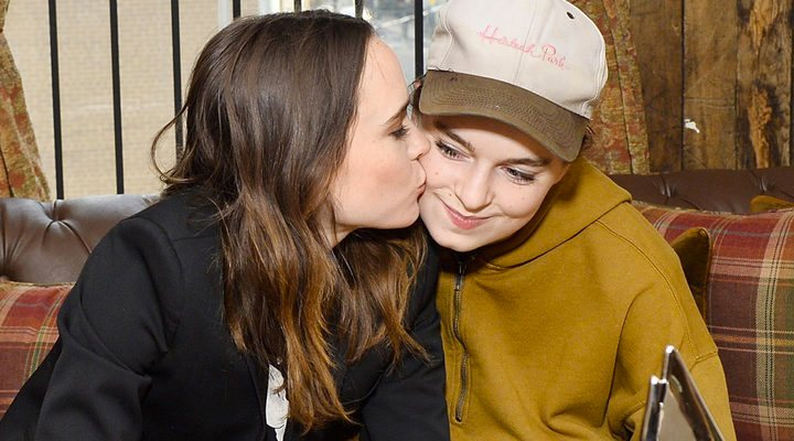'Elliot Page y Emma Portner'