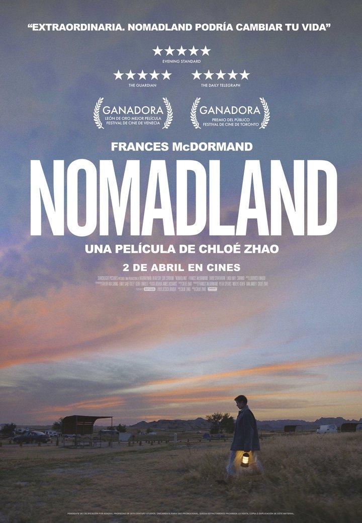 Póster de 'Nomadland'