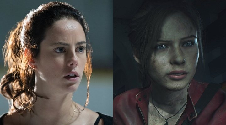 Kaya Scodelario y Claire Redfield de 'Resident Evil'