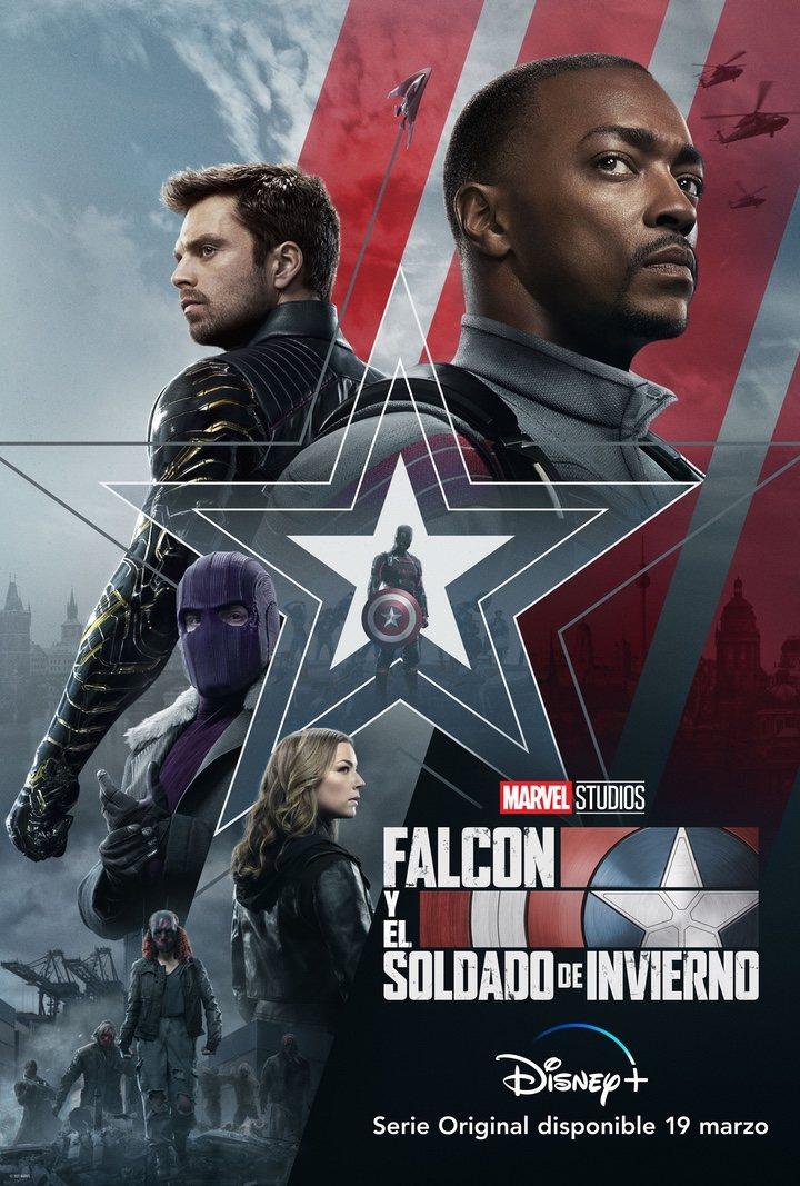 Póster de 'Falcon y el Soldado de Invierno'