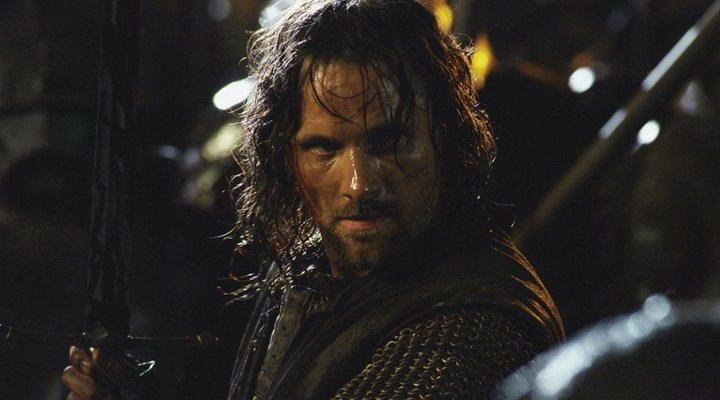 'Viggo Mortensen en El Señor de los Anillos'