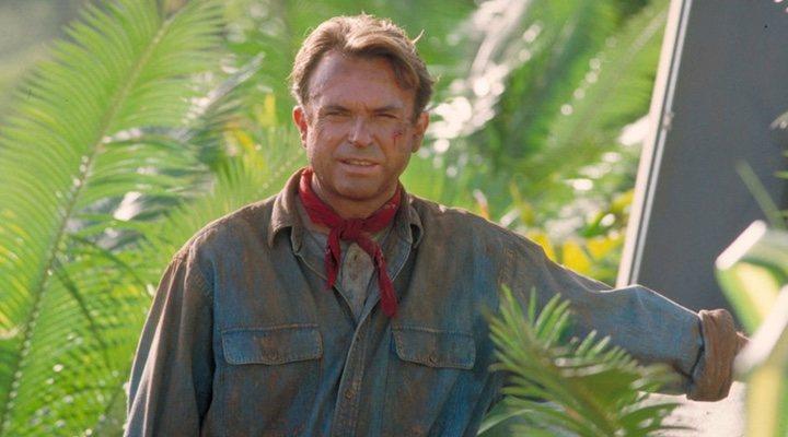 Sam Neill en la saga 'Parque Jurásico'