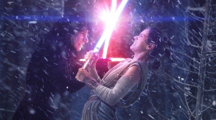 Adam Driver y Daisy Ridley en 'Star Wars: Los últimos Jedi'