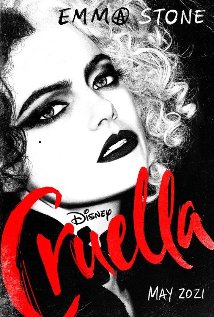 Cruella' lanza su primer póster, protagonizado por Emma Stone, y anuncia  tráiler - eCartelera