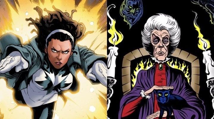 Photon y Agatha Harkness en los cómics Marvel