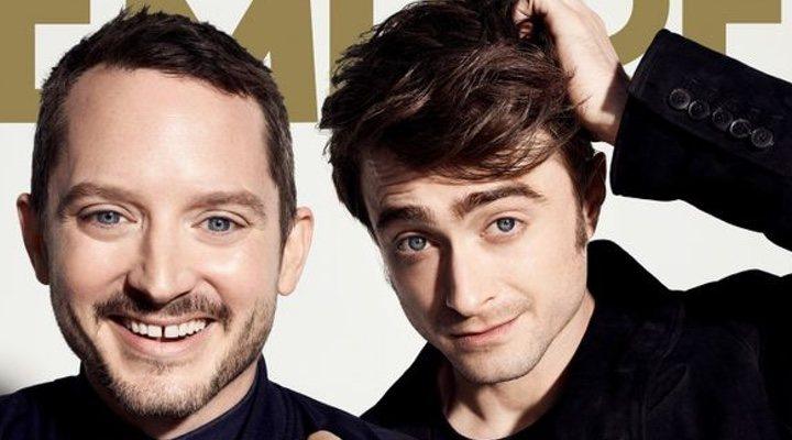 Elijah Wood y Daniel Radcliffe en la portada de la revista Empire