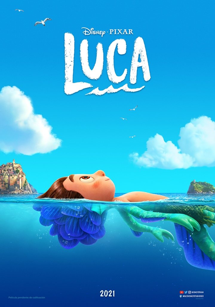 Póster de 'Luca', película de Pixar
