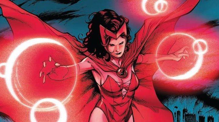 Bruja Escarlata en los cómics