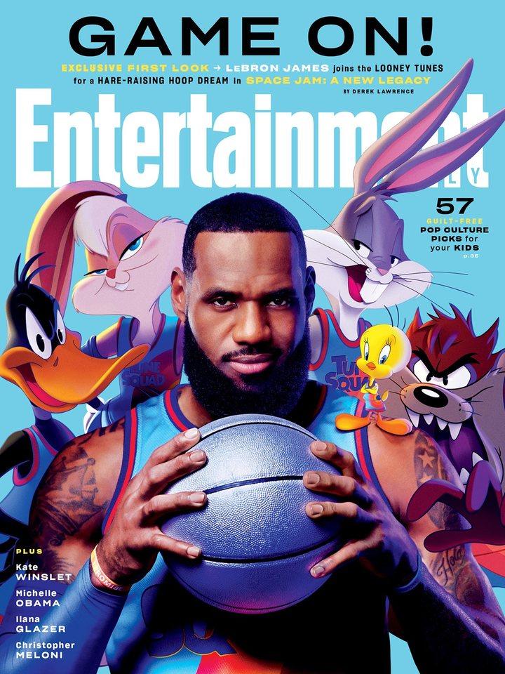 'Space Jam 2' en la portada de Entertainment Weekly