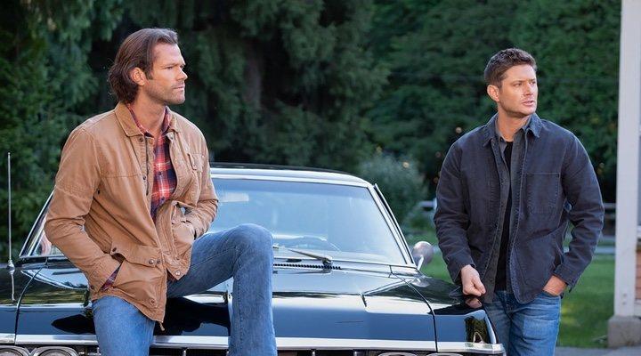 Jared Padalecki y Jensen Ackles en 'Supernatural'