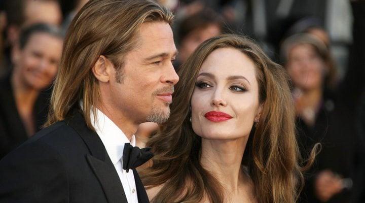 'Brad Pitt y Angelina Jolie'