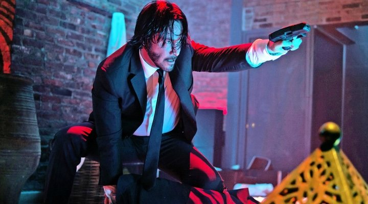 Keanu Reeves en 'John Wick'