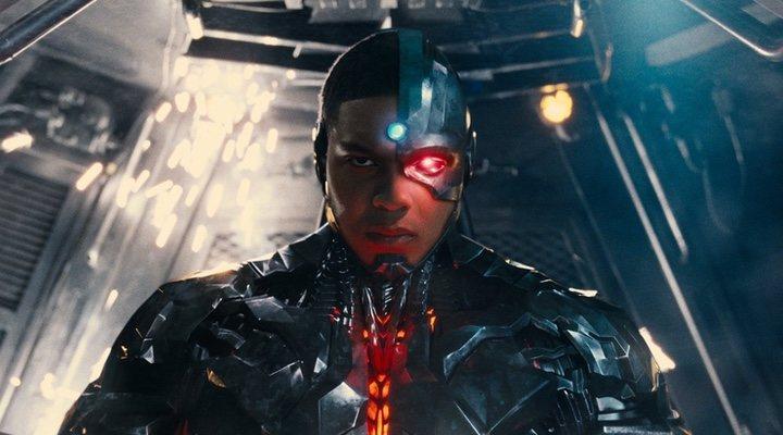Ray Fisher en 'La Liga de la Justicia de Zack Snyder'