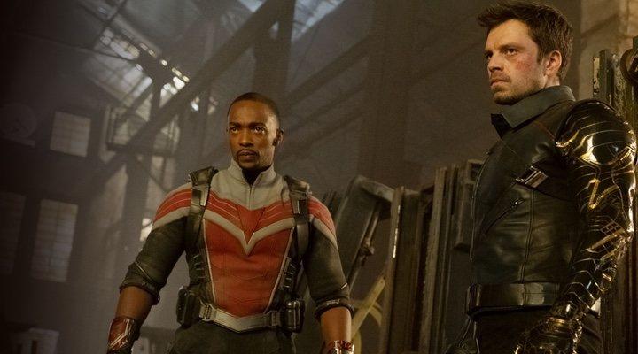 Anthony Mackie y Sebastian Stan en 'Falcon y el Soldado de Invierno'