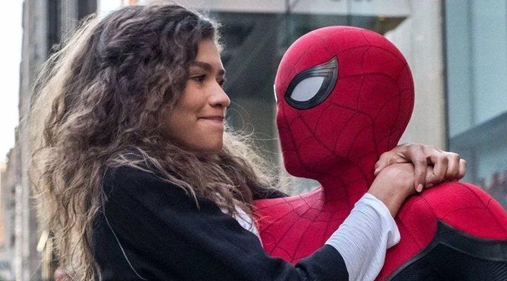 Zendaya y Tom Holland en 'Spider-Man: Lejos de casa'