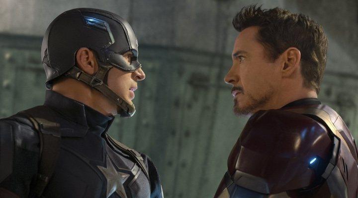 Chris Evans y Robert Downey Jr. en el Universo Cinematográfico Marvel