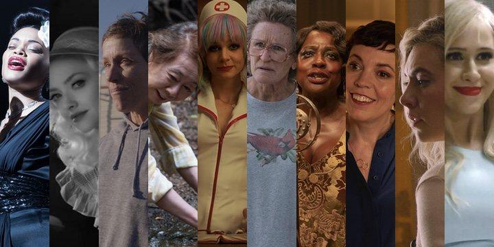 Las nominadas a mejor actriz y mejor actriz de reparto en los Oscar 2021